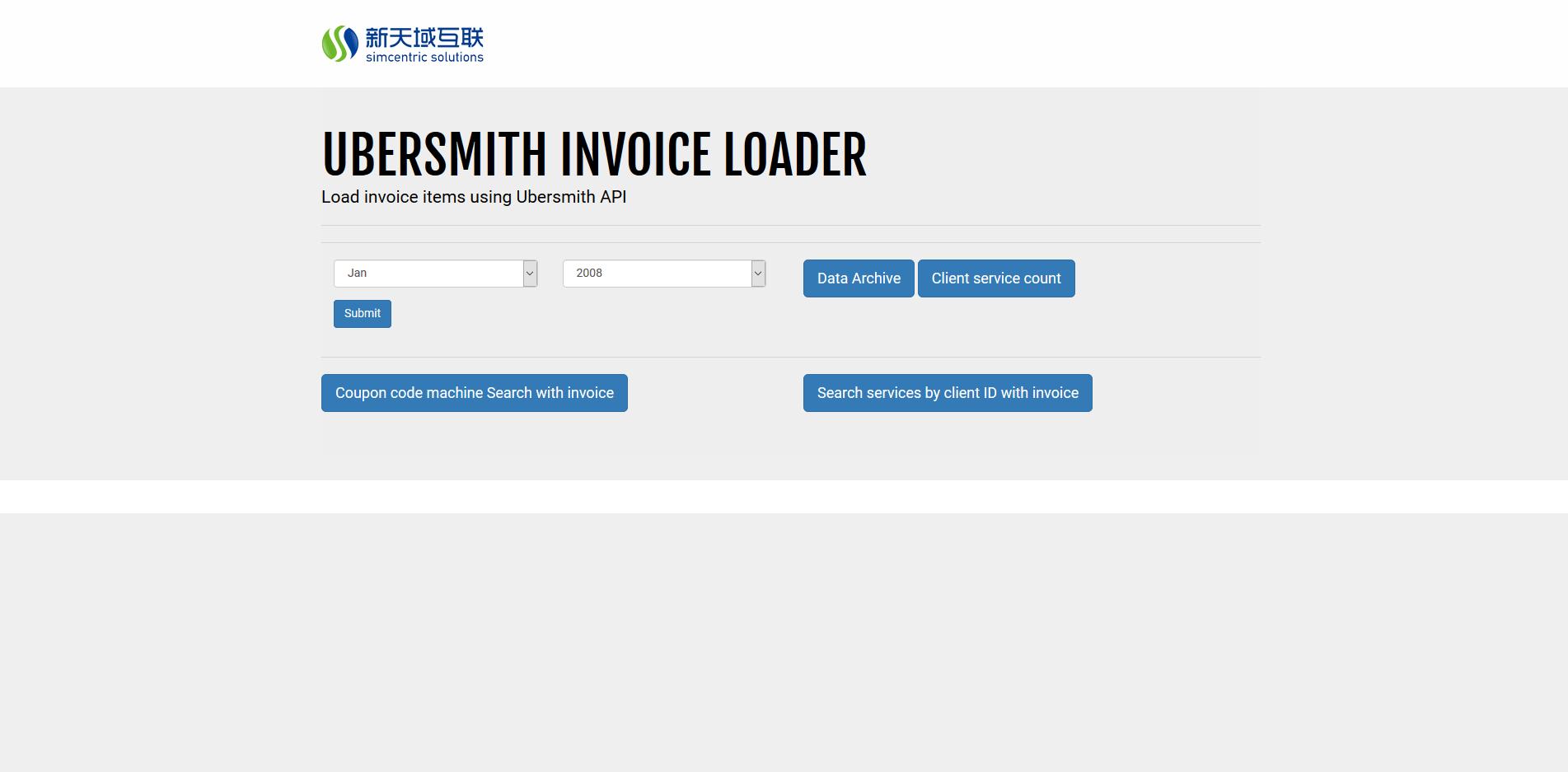 Ubersmith reporting tool